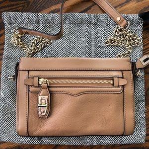 Rebecca Minkoff chain strap leather bag NEVER WORN